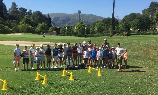 Ecole de golf - stage de golf junior Marseille