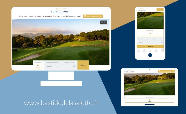 Le site Bastide de la Salette fait peau neuve ! - Open Golf Club