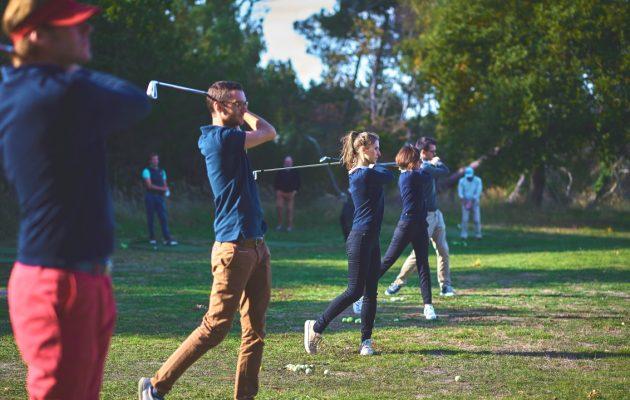 Take up golf