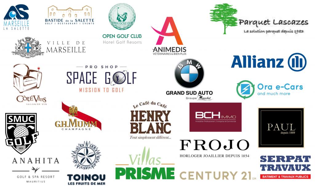 Les partenaires de l'Open de la ville de Marseille